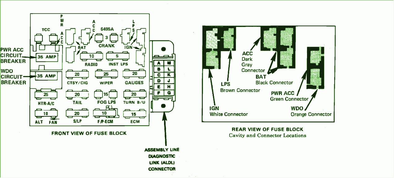 1990 Chevy Fuse Box Diagram Chevrolet Wiring Diagrams Instructions Rh Justdesktoallpapers Cavalier: Chevrolet Fuse Box Diagram 1990 At Goccuoi.net