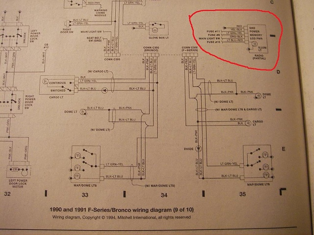 1991 ford radio wiring diagram schematics wiring diagrams rh wine174 com