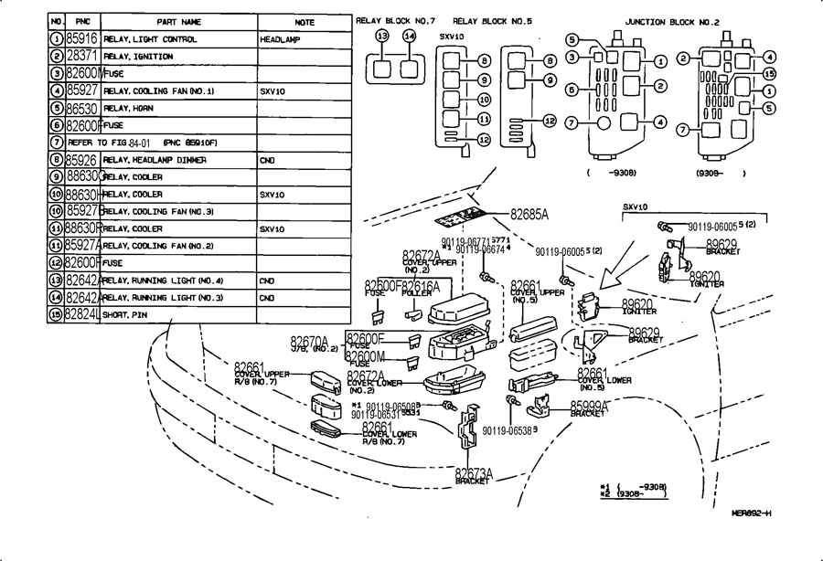 01 camry 2 cooling fans ac wiring diagram 1991 toyota camry starter relay image details  1991 toyota camry starter relay image