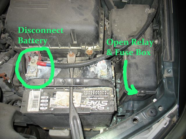 1991 Toyota Camry Starter Relay Location