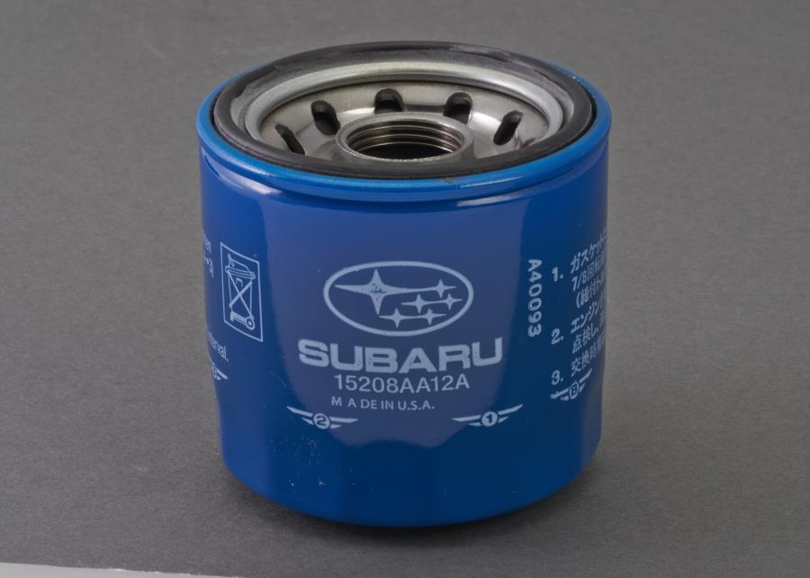 1992 Subaru Legacy OIL FILTER COMPLETE . 23 2436. Part # 15208AA12A