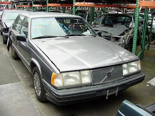 1992 Volvo 940 GL Engine Parts