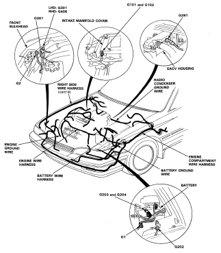 1997 honda accord wire harness 1997 wiring diagrams online