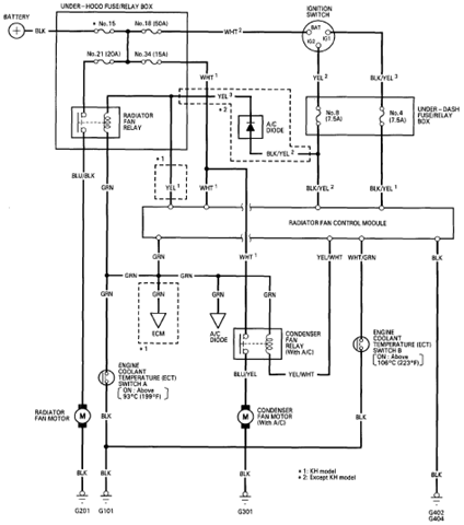1994 Lincoln Wiring Diagrams on 94 honda accord fuse box diagram