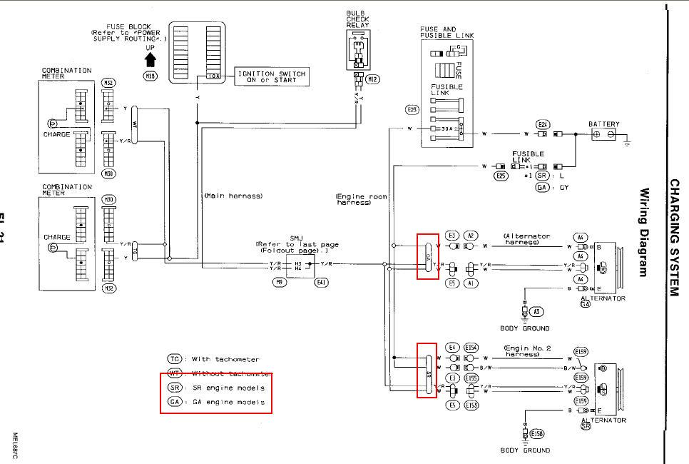nissan sentra alternator wiring diagram schematics wiring diagrams u2022 rh parntesis co 2010 nissan sentra radio wiring diagram 2010 nissan sentra blower motor wiring diagram