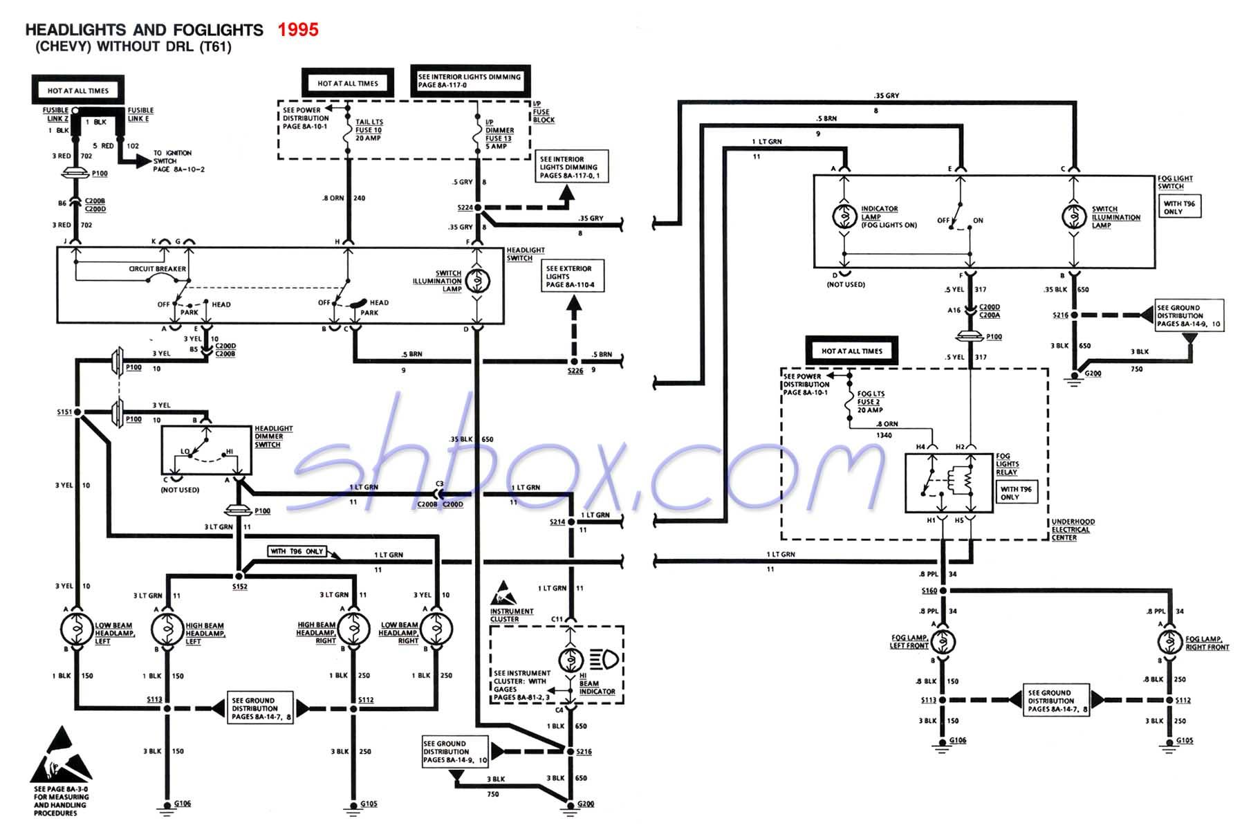 1995 s10 pickup wiring diagram - dolgular, Wiring diagram