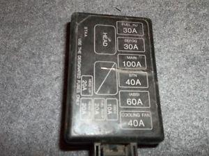 honda prelude fuse box diagram image details 1995 honda prelude fuse box diagram