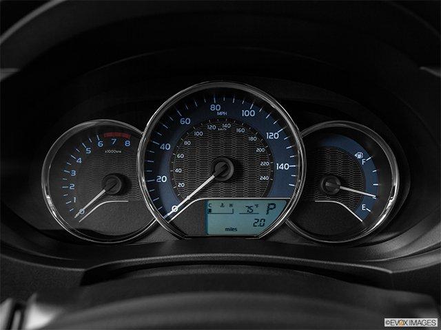 1995 toyota corolla interior speedometerheadcluster mphheadonly
