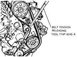 1996 Ford Ranger 2.3 Timing Marks
