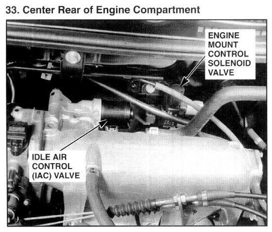 1996 Honda Accord Idle Air Control Valve