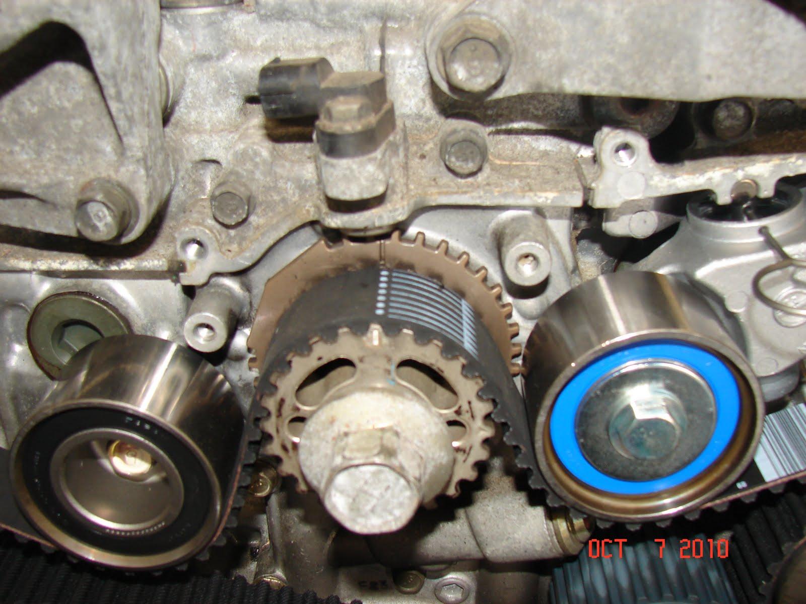 1997 Subaru Legacy Timing Belt Diagram