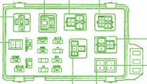 1997 toyota camry fuse box diagram