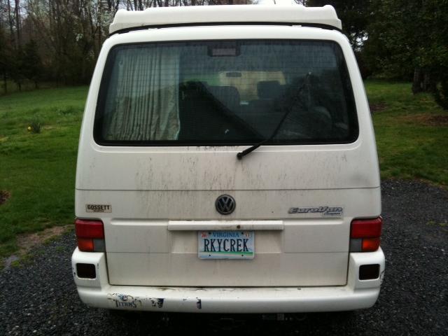 1997 Volkswagen Eurovan Full Camper