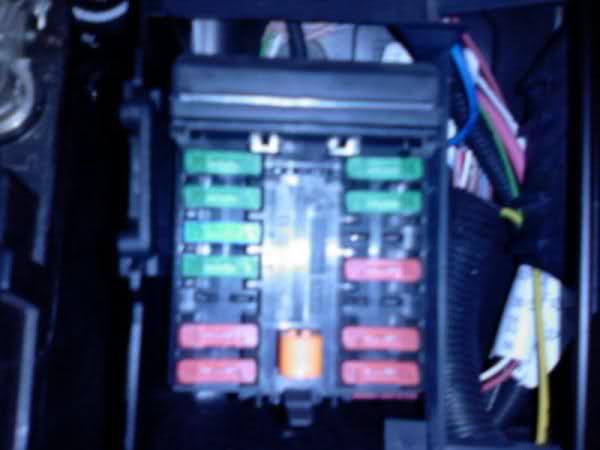 1998 106,fuse box problem