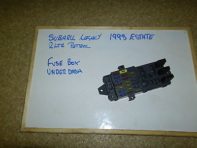 1998 Subaru Legacy Outback Fuse Diagram Image Details