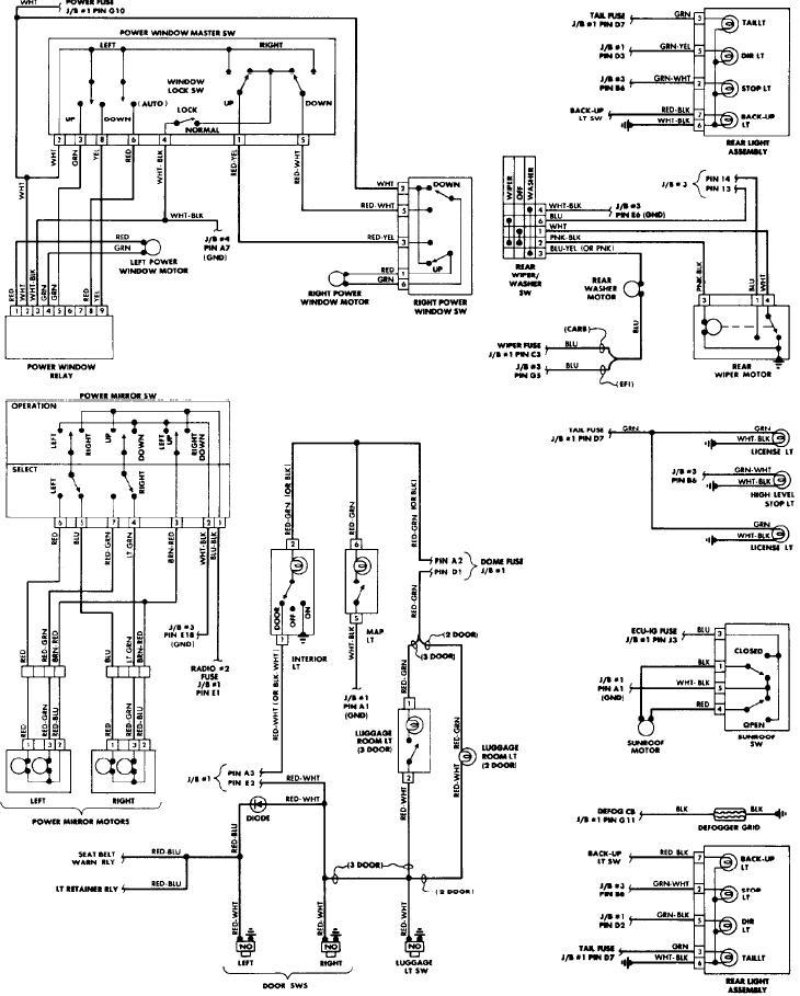 1998 Toyota Corolla Fuse Box Diagram