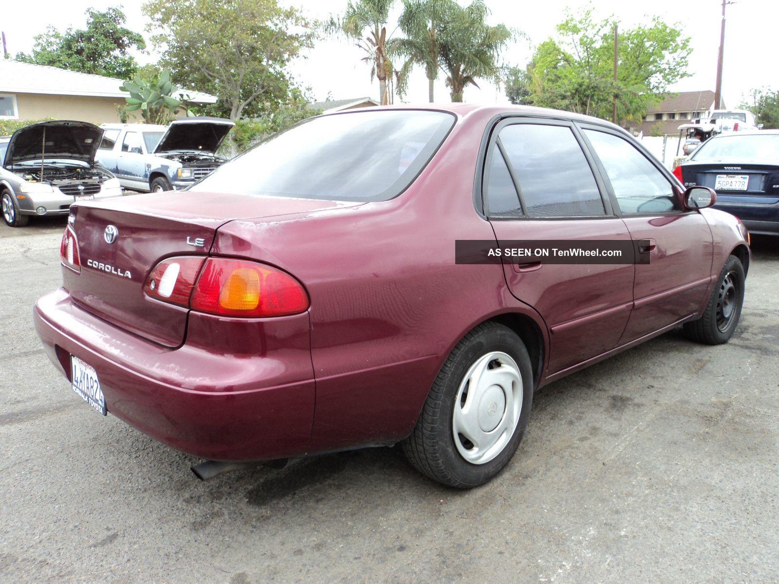 1998 Toyota Corolla Hatchback