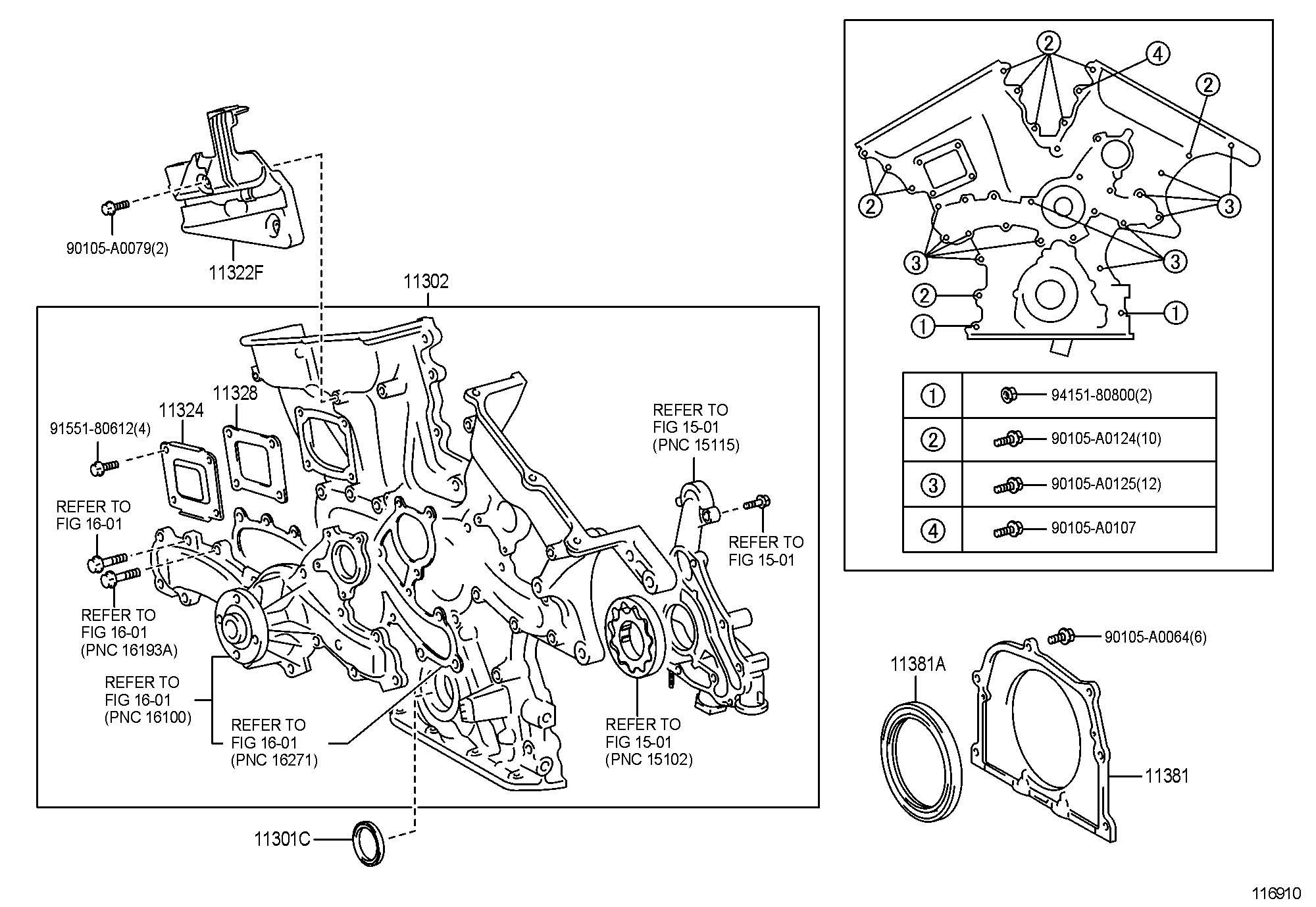 1998 Toyota Sienna Timing Belt Diagram