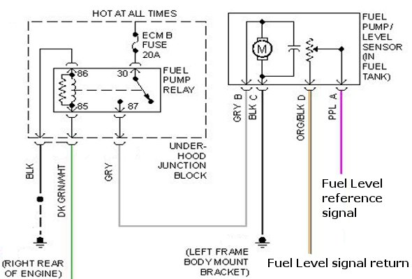 chevy geo tracker fuel pump wiring diagram image details 1999 chevy silverado fuel pump wiring diagram