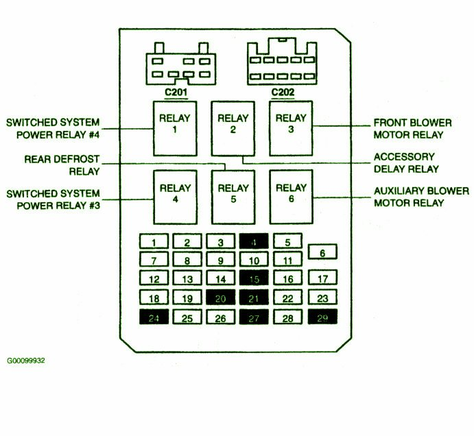 1999 ford windstar fuse box diagram tbOEavG 2003 ford windstar fuse box ford wiring diagrams for diy car repairs Ford Mustang Stereo Wiring Diagram at soozxer.org