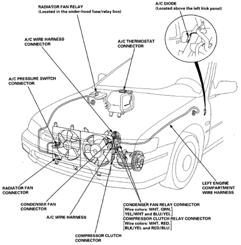 1993 Honda Accord Wiring Harness Diagram Image Details
