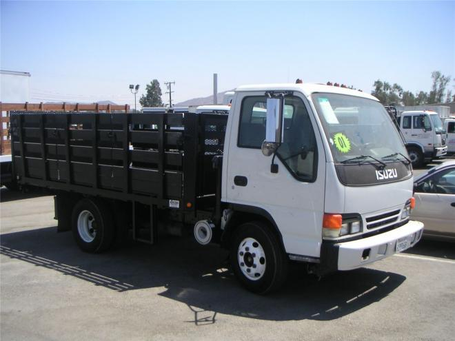 1999 Isuzu NPR Box Truck