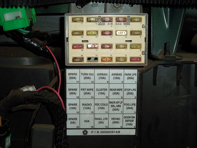 jeep tj fuse box diagram jeep wiring diagrams online