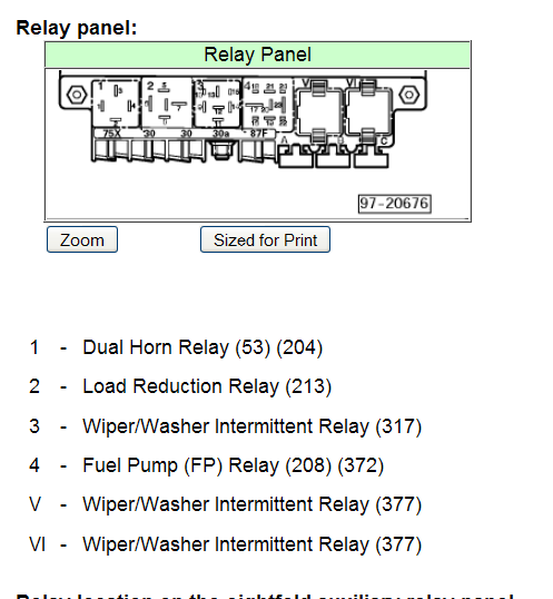 1999 Vw Passat Relay Diagram Image Details