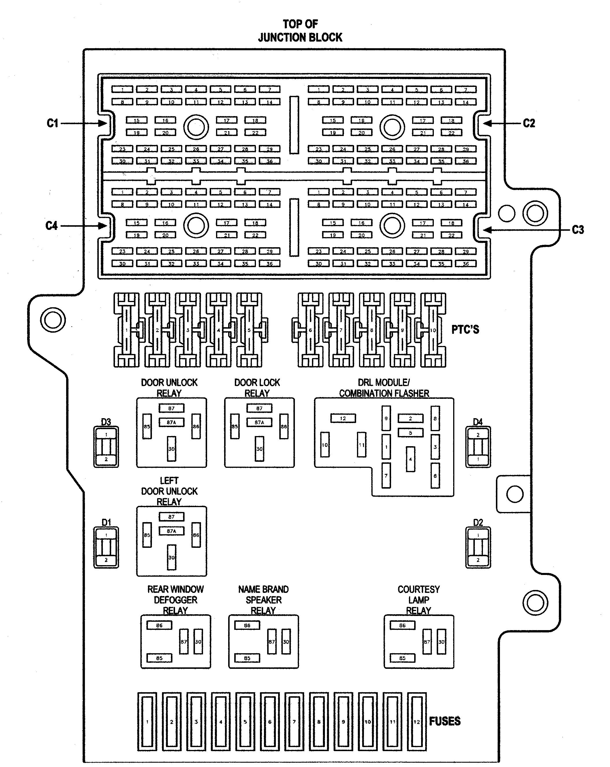 2000 Chrysler Concorde Fuse Box Diagram Great Installation Of Wiring For 1995 Plymouth Voyager Rh 19 Pfotenpower Ev De