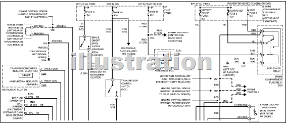 2000 ford ranger transmission wiring diagram image details rh motogurumag com Ford Electrical Wiring Diagrams Ford Electrical Wiring Diagrams