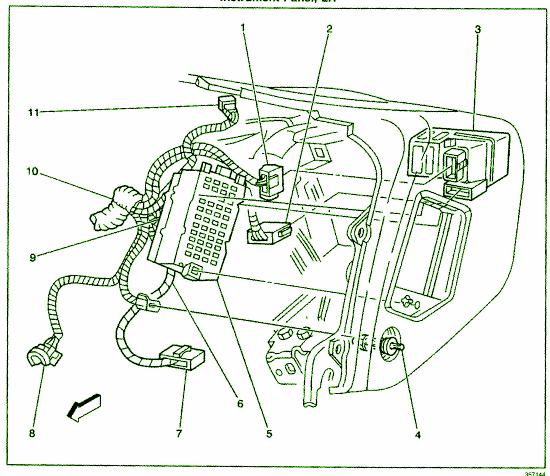 2000 Daewoo Lanos Fuse Box Diagram - Wiring Diagrams on