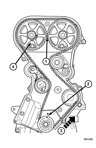 2000 Mazda Protege Timing Belt Diagram