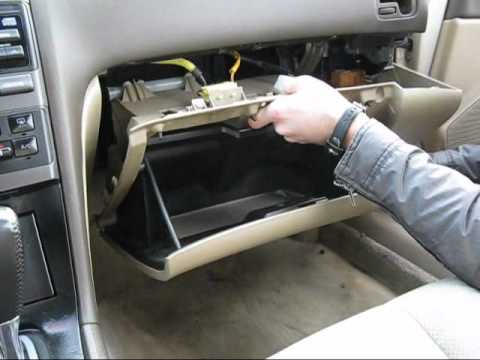 2000 Nissan Maxima Cabin Air Filter Location
