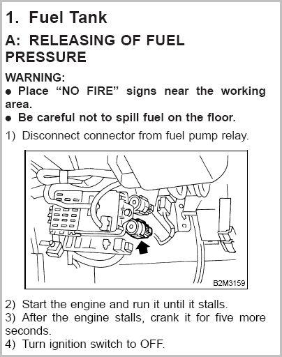 2000 subaru forester fuel pump relay location image details Chevy Fuel Pump Relay Problems 2000 subaru forester fuel pump relay location