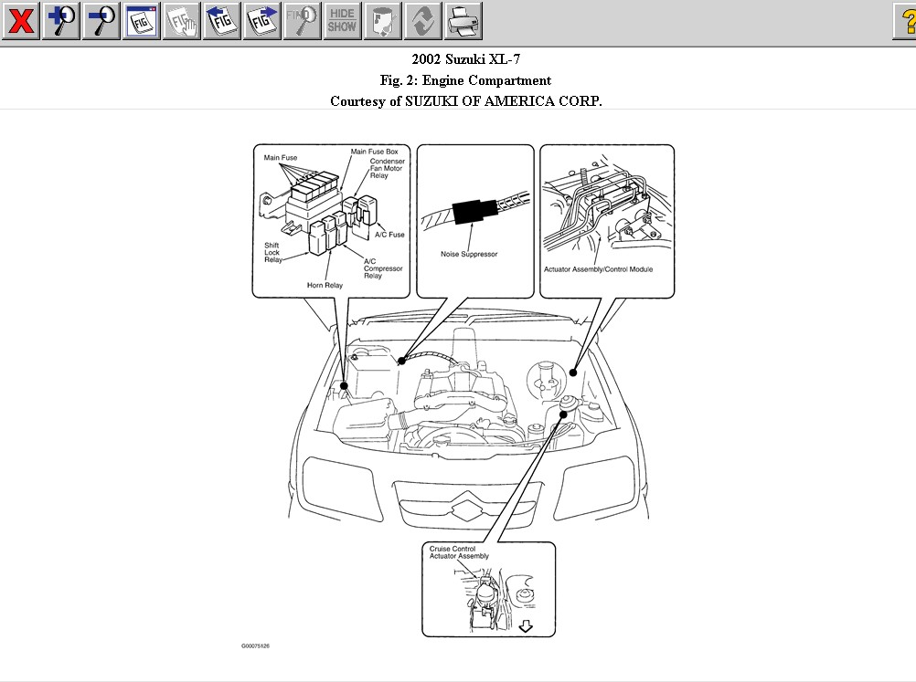 2000 Suzuki Grand Vitara Fuse Box Diagram