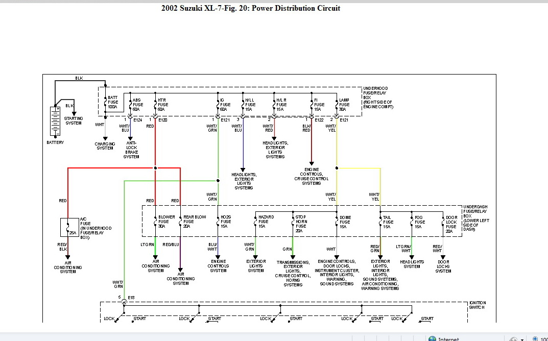 Marvelous Fuse Box Suzuki Grand Vitara 2004 Wiring Diagram Wiring 101 Ivorowellnesstrialsorg