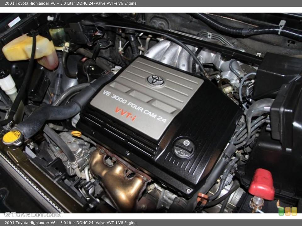 2000 Toyota Camry V6 Engine