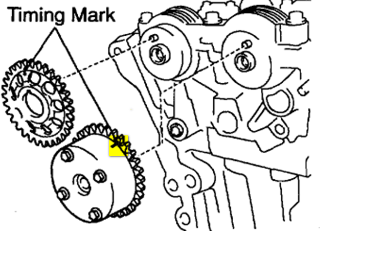 2000 Toyota Corolla Timing Chain Diagram