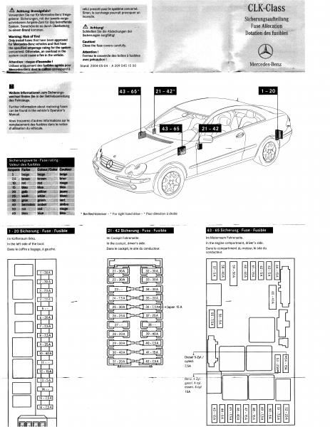 mercedes w208 fuse box location mercedes w208 fuse box