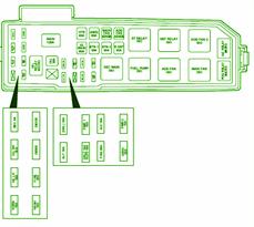 2001 ford escape fuse box diagram