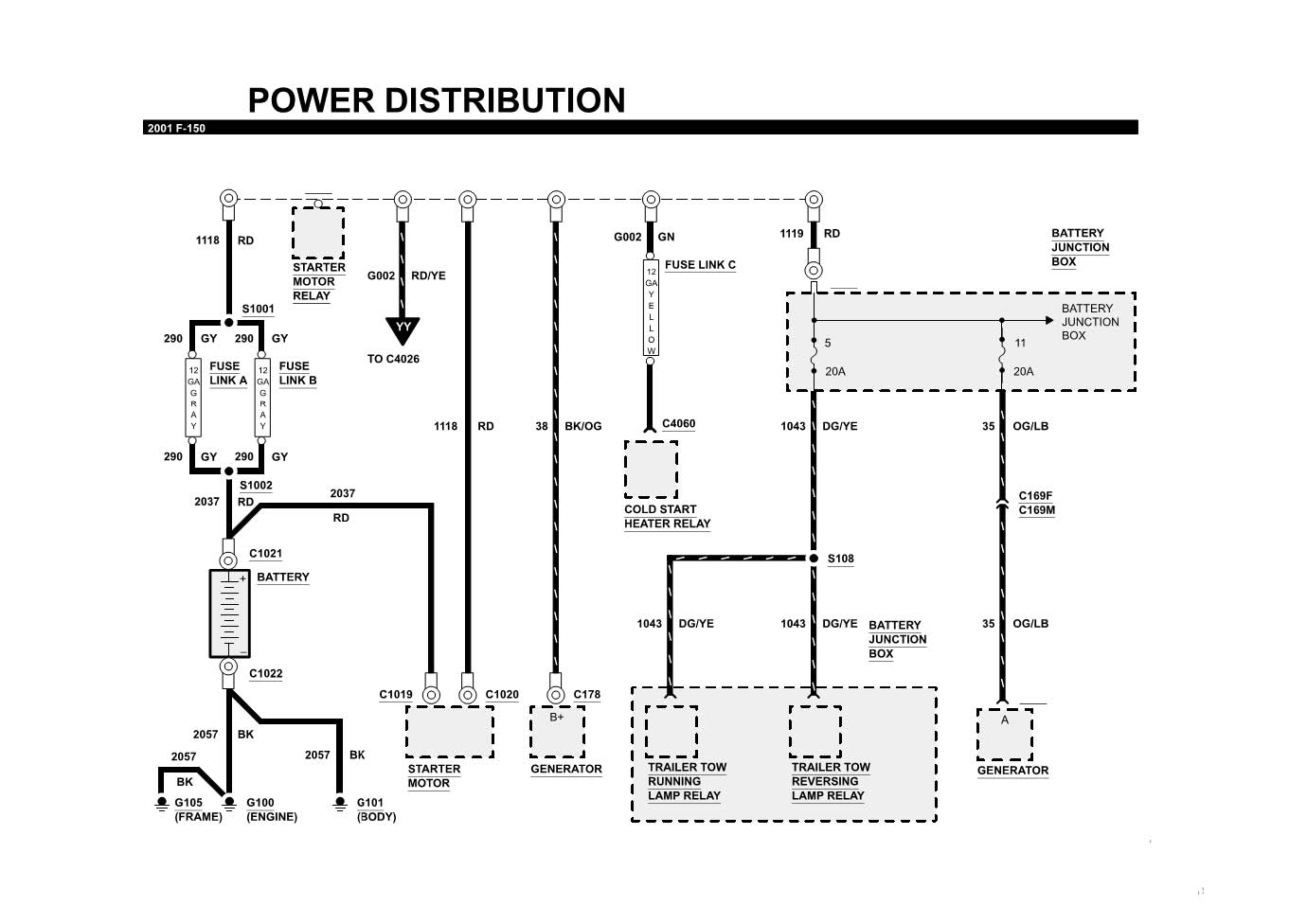 2000 Ford F150 Fuel Pump Wiring Diagram Example Electrical 2005 Taurus 41 System