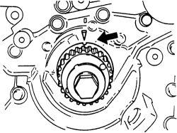2001 Mazda 626 2.5 Timing Belt Marks