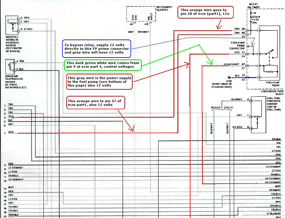 1996 honda accord wiring diagram. honda. electrical wiring diagrams, Wiring diagram