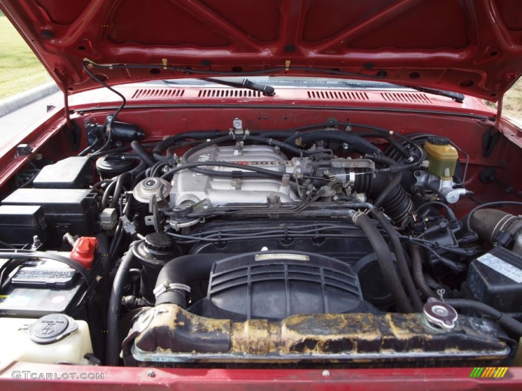 2001 Toyota Highlander V6 Engine Picture