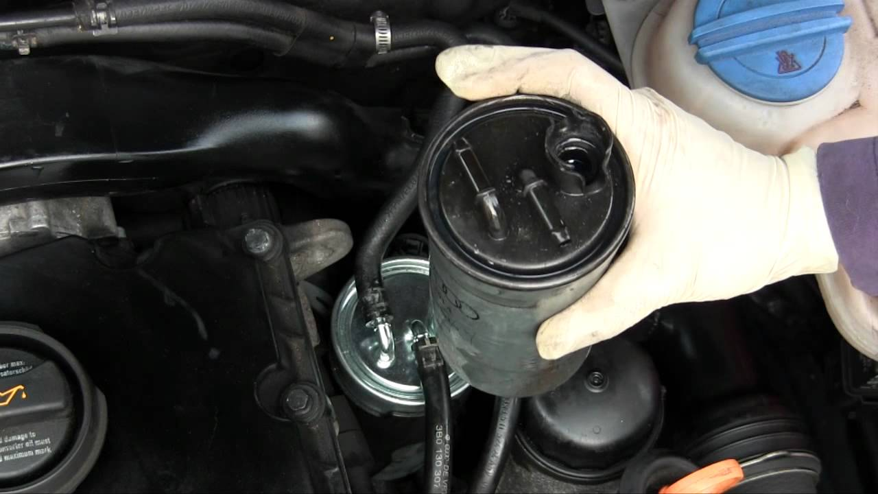 2001 VW Passat Fuel Filter Location