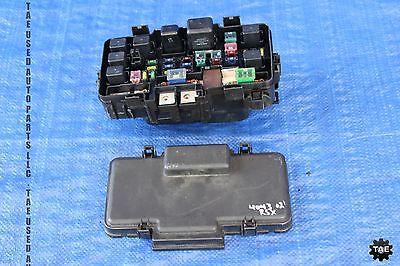 2002 03 04 acura rsx type s engine bay fuse box assy k20a2 4043 | ebay