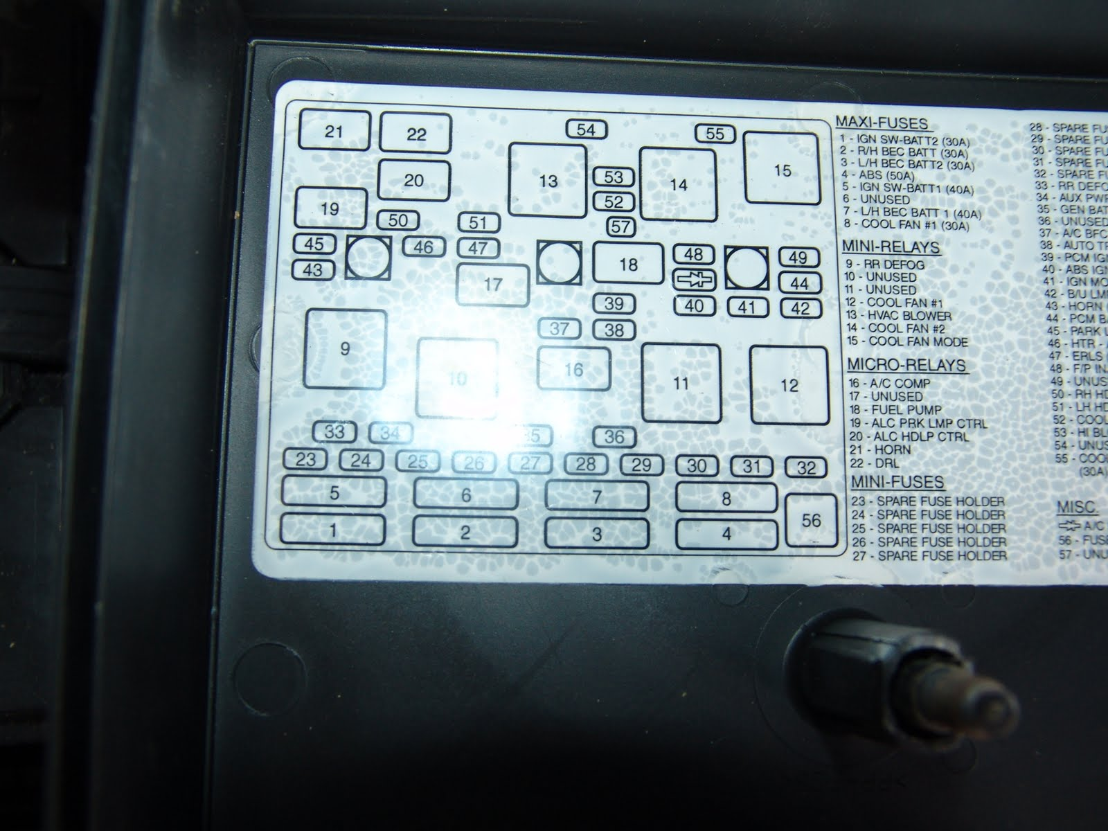 LyrHFl additionally Catalog3 additionally Ford Edge 2010 Junction Fuse Boxblock Circuit Breaker Diagram as well 09 Dodge Ram Fuse Box Diagram further 03 Ford Crown Victoria Fuse Box Diagram. on dodge fuse panel diagram