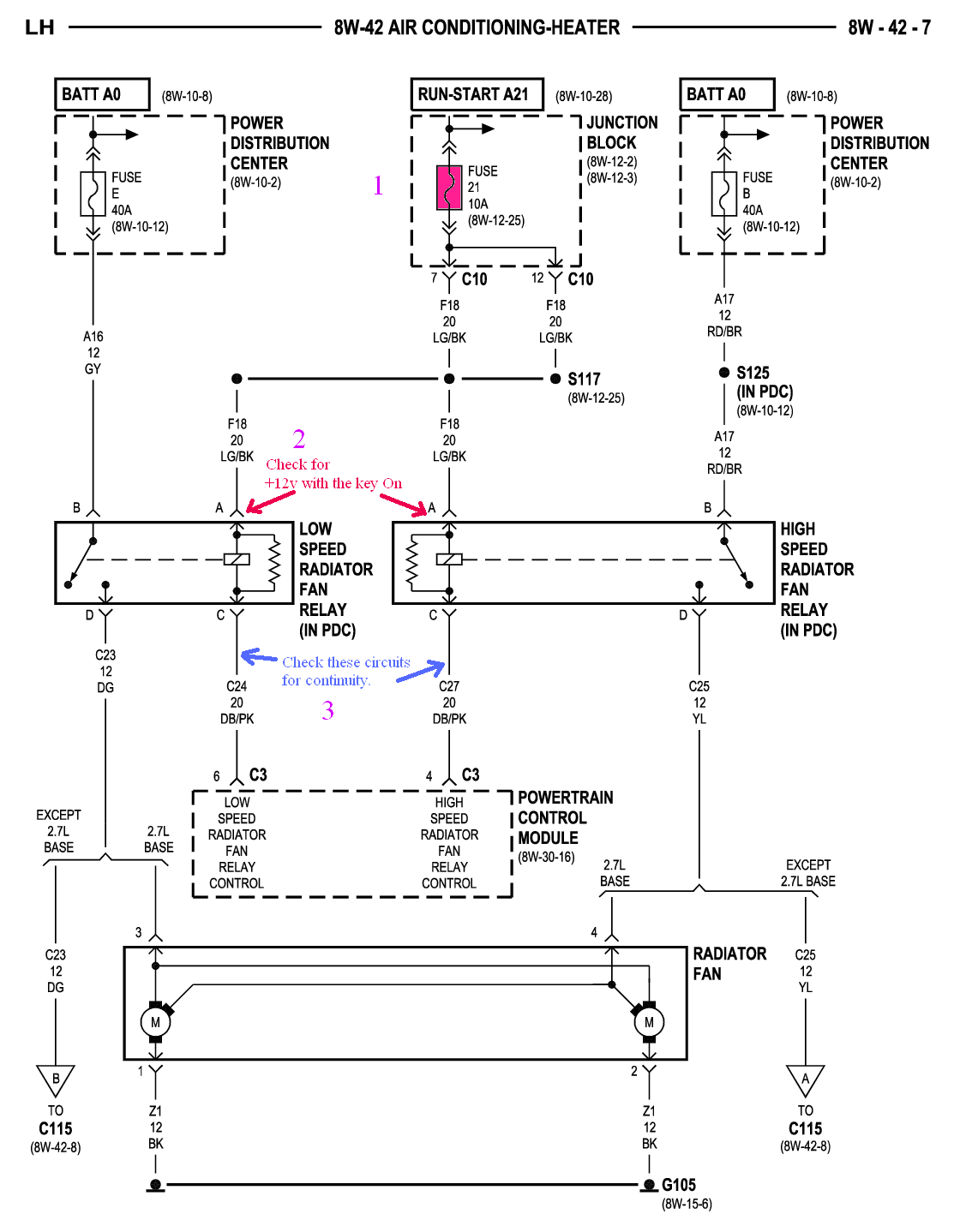 2002 Chrysler Sebring Ignition Wiring Diagram