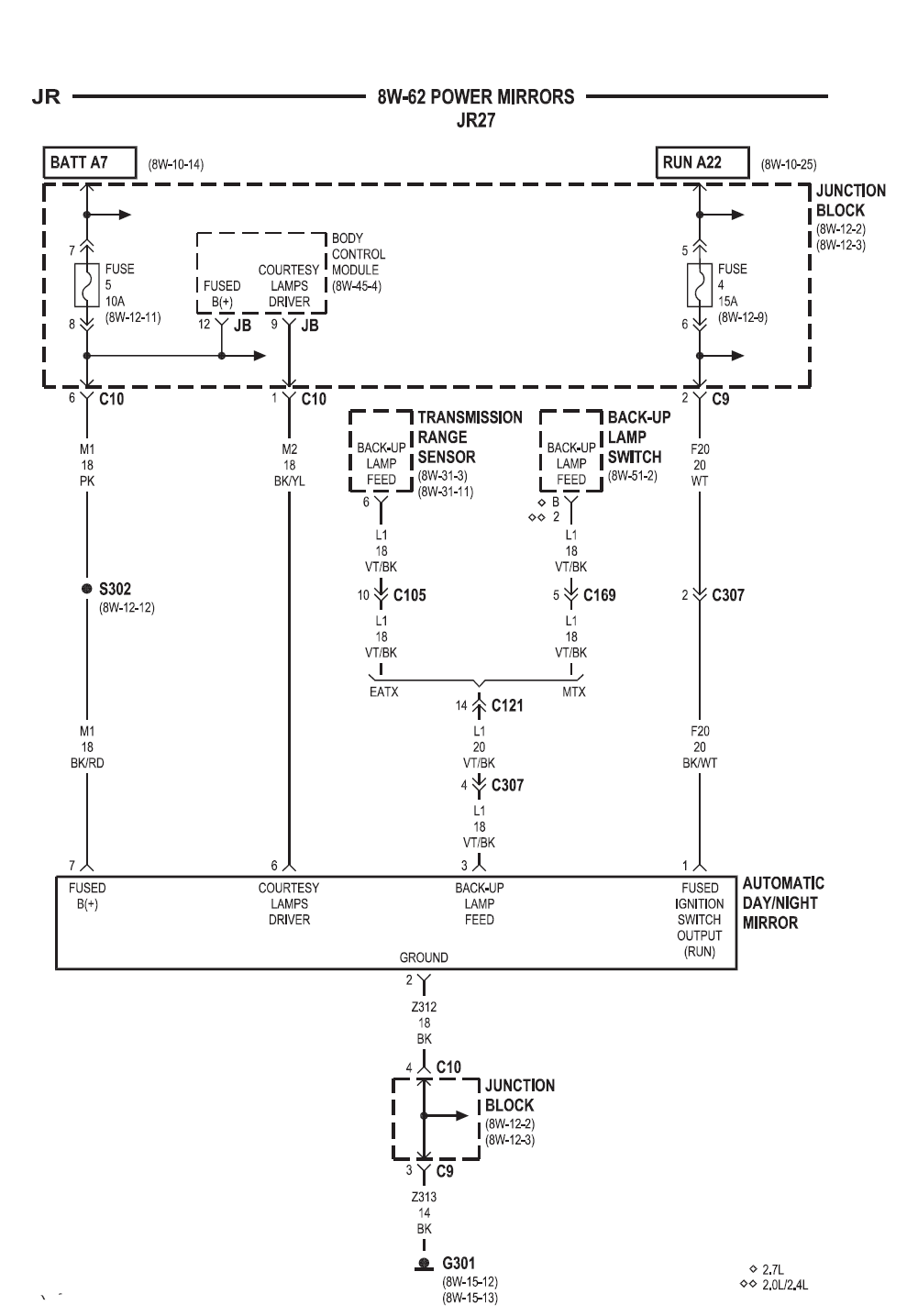 2002 Chrysler Sebring WiringDiagram
