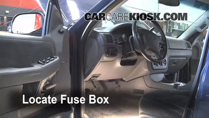 2002 Ford Explorer Fuse Box Location